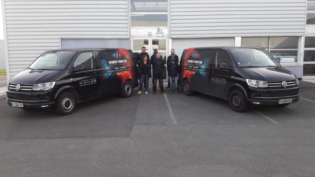 Energy master, frigoristes à La Rochelle